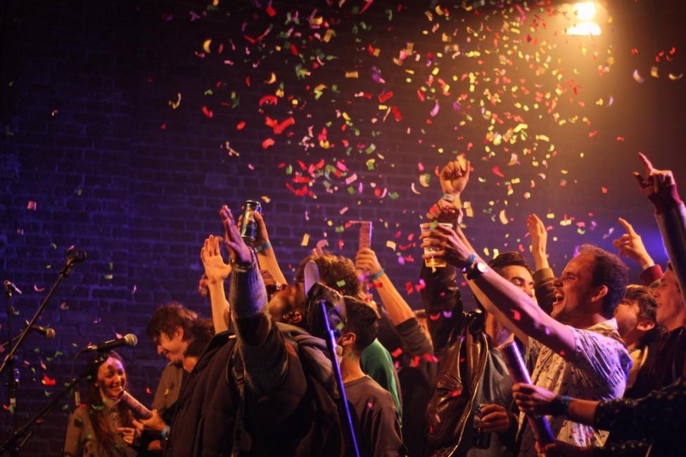 New Year World Rock Festival au Village Underground London