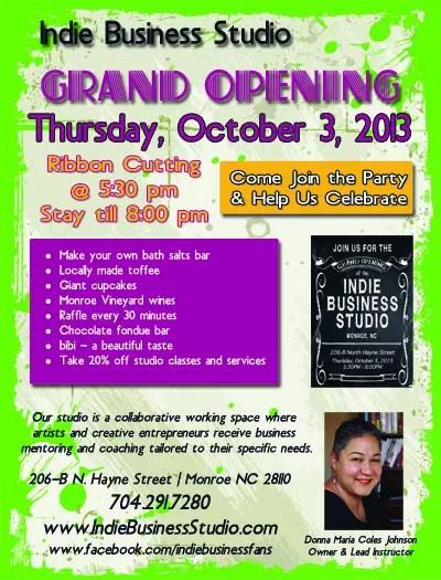 Our Grand Opening Flyer! - grand opening flyer