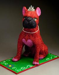 Crafty Chica Glitter Dog