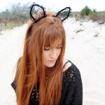 Lace Cat Ears – Rock Mosaic