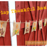 Thankful Banner – Violet Imperfection