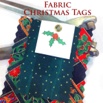 Fabric Gift Tags – Blue Bird Sews
