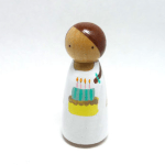 Wooden Peg Dolls – Happy Abby