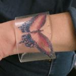 Etched Plexiglass Bracelet – Purl3agony