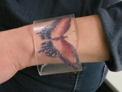 plexi etched bracelets