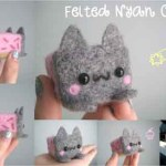 Wool Felted Nyan Cat – xxNostalgic