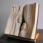 Wooden Book Sculptures – Nino Orlandi