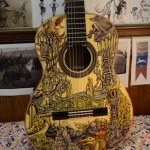 Sharpie Art Customized Guitars – Vivian Xiao