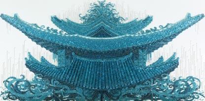 Ran Hwang Temple Chadelier 1