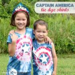 Captain America Tie Dye Shirts – Simply Kelly Designs