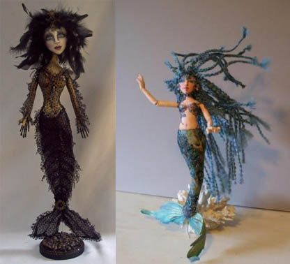 Mermaid Doll Winners