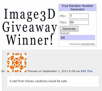 Image3Dgiveaway winner