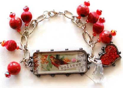 Believe Priest Bracelet with resin copy