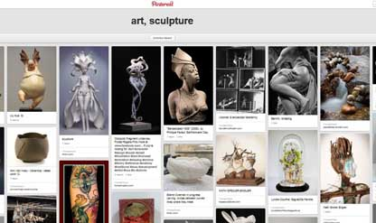 art sculpture pinterest board