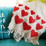 Romantic Heart Blanket