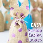Burlap Easter Bunnies