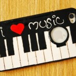DIY Piano Cell Phone Case