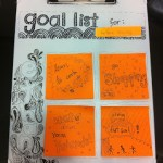 DIY Doodled Goal List