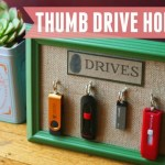 DIY Thumb Drive Holder
