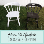 Garage Sale Furniture Makeovers