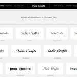 Cool Website- Wordmark.it