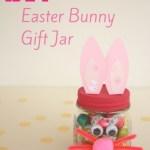 Make an Easter Bunny Gift Jar