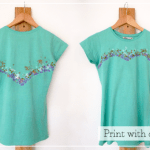 DIY Melted Crayon Tshirt