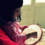 Making Time to Sew and Craft with Young Kids at Home