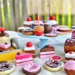 DIY Wooden Play Desserts