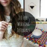 10 Free Weaving Tutorials
