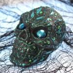 DIY Decorative Halloween Skulls