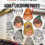 8 Resources and Free Printables for Adult Coloring