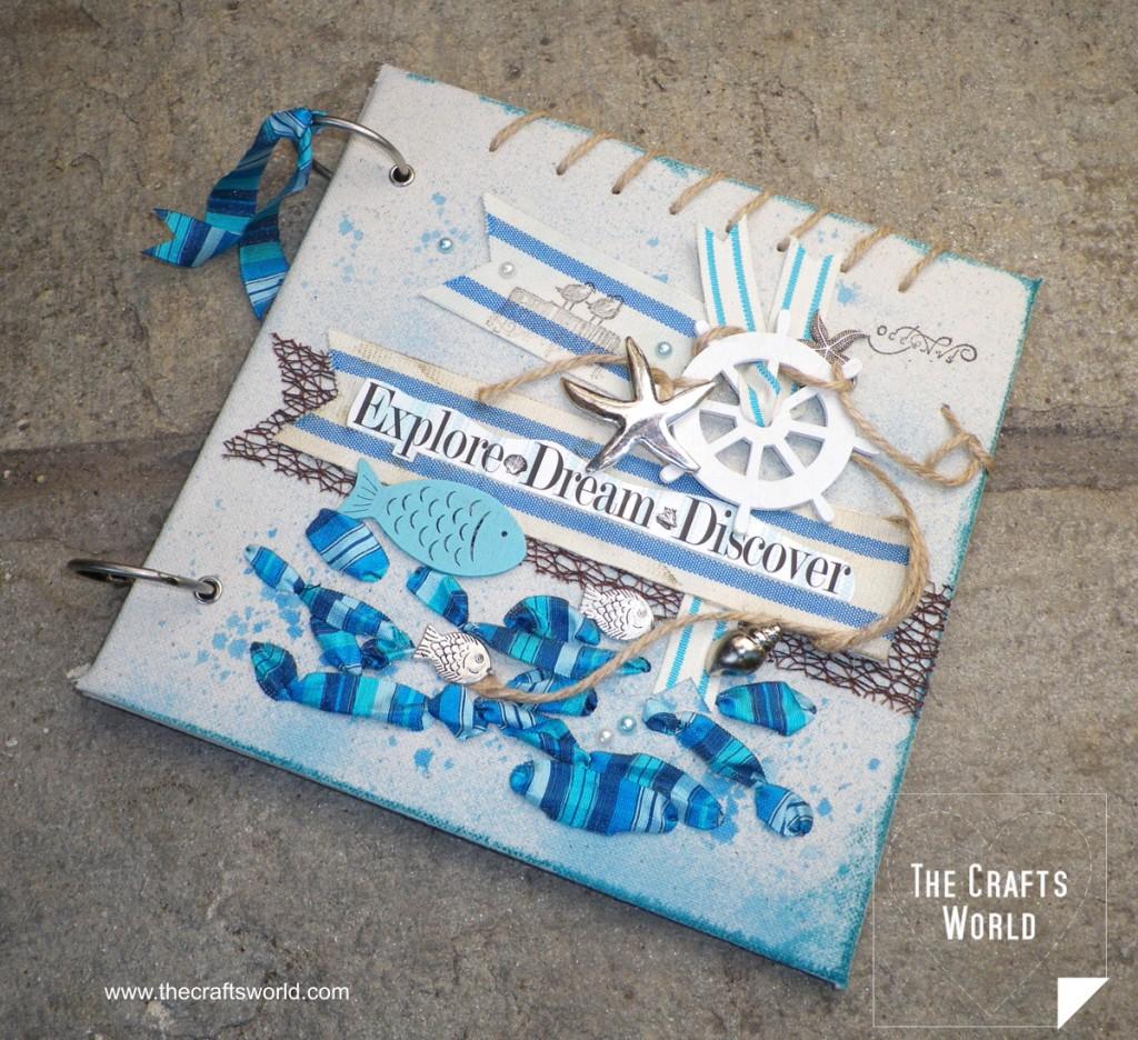 Diy nautical album cover indie crafts for Nautical craft ideas