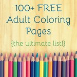 100+ Free Adult Coloring Pages