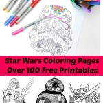 100+ Star Wars Free Printable Coloring Pages for both Adults and Kids