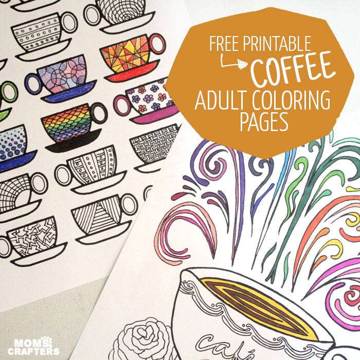 crafts free adult colouring printables