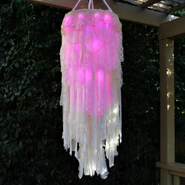 DIY Light-Up Boho Chandelier – Indie Crafts