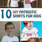 10 DIY Patriotic Shirts for Kids