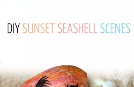 DIY Painted Seashells