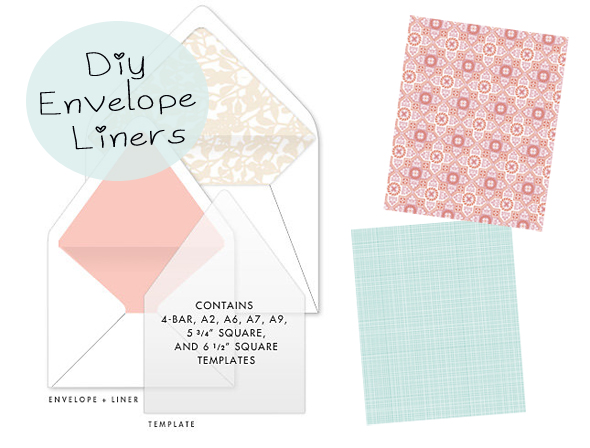 DIY Envelope Liners from Hello!Lucky - Indie Fixx