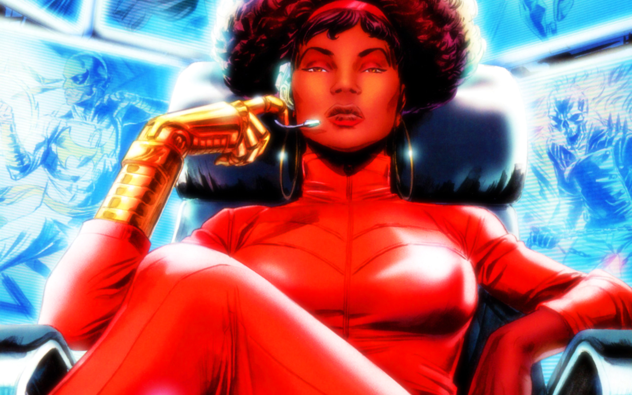 Afro Girl Wallpaper Marvel S Luke Cage Casts Newcomer As Misty Knight