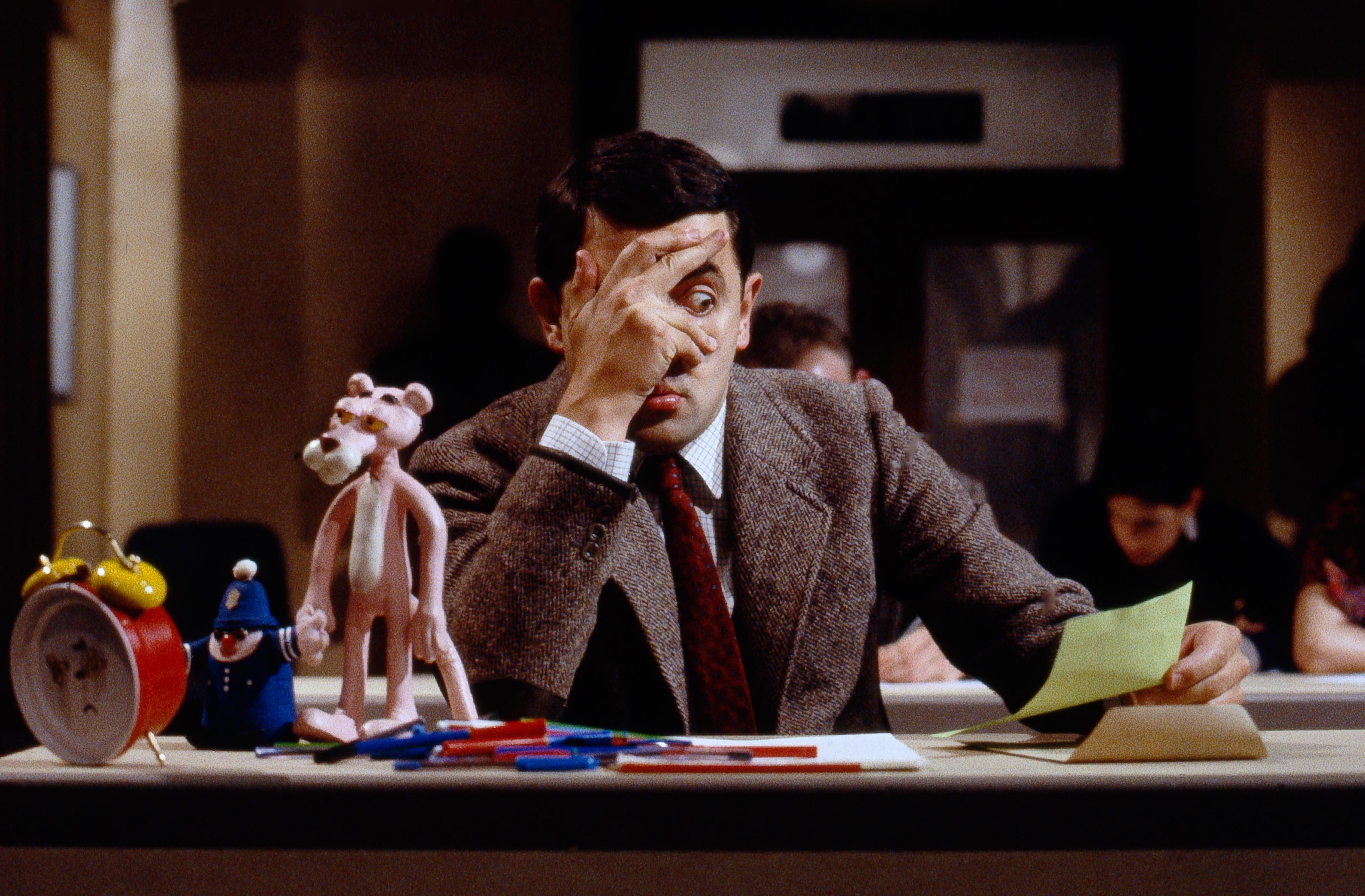 Mr Bean Review New Collection Celebrates 25 Years Of Mr Bean Comic