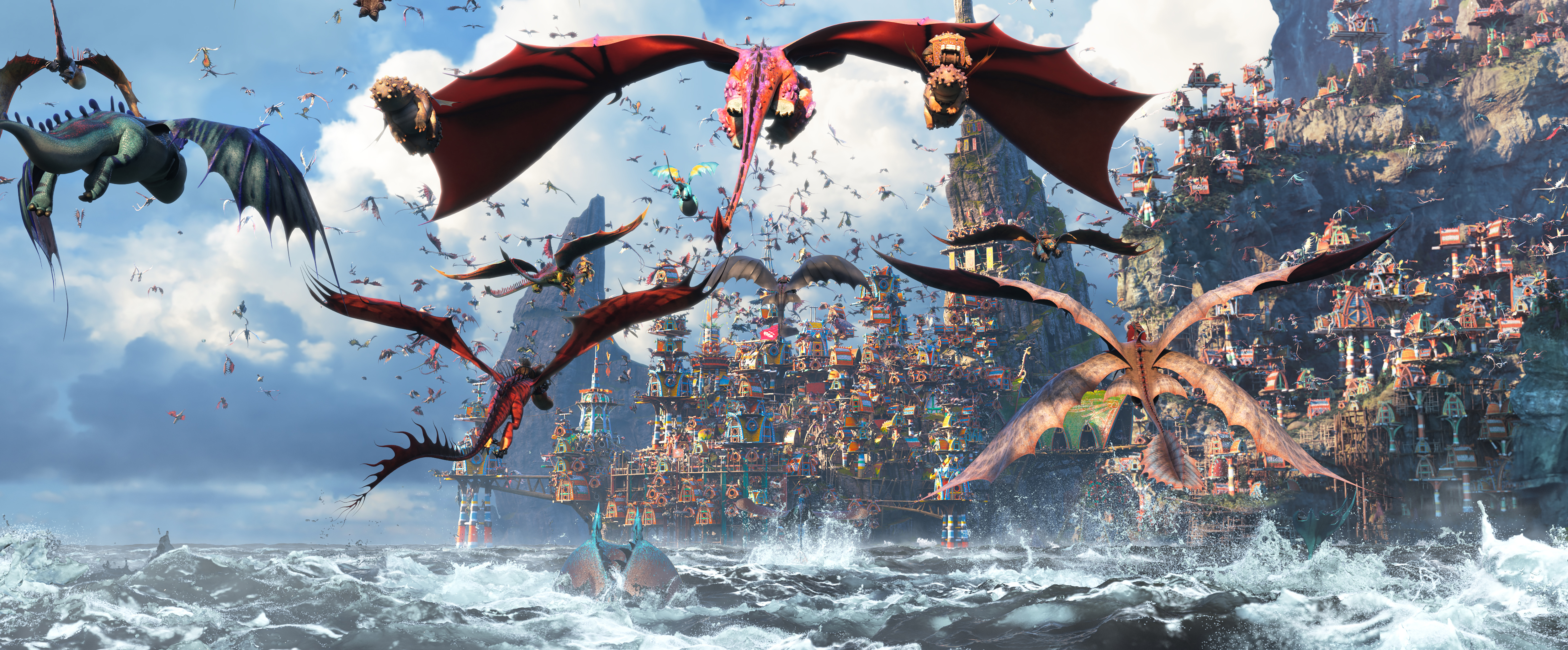 Box Office World How To Train Your Dragon The Hidden World Beats Box Office