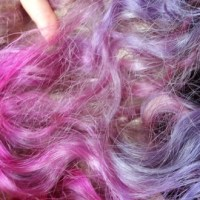 Le cheveu de poney licorne