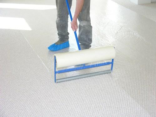 Medium Of Plastic Carpet Protector