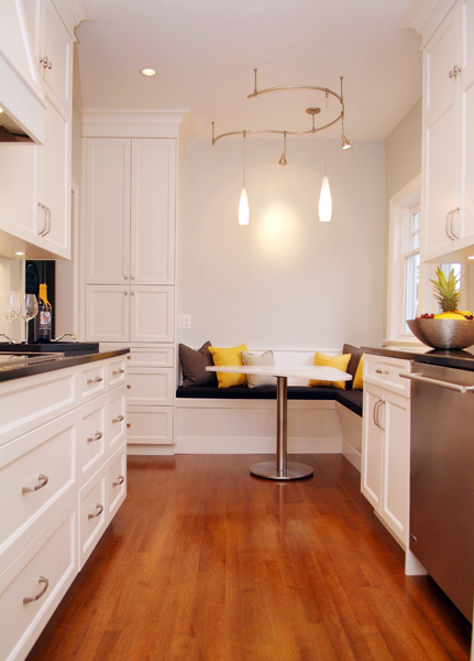 French Country Backsplash A Hundred Year Old House Gets A New Galley Kitchen. The