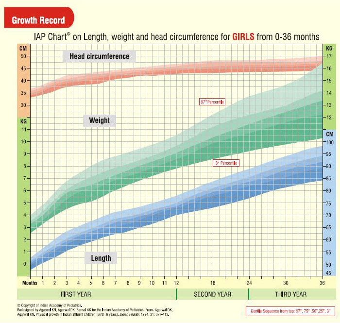 Girl\u0027s Growth Chart Indira Child Care Your Pediatric Clinic in - babies growth chart