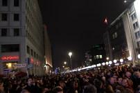 Berlin - Lâché des ballons commémoratifs Potsdamer platz