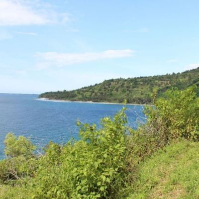 Beachfront land for sale in Lombok