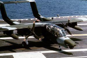 OV-10 Bronco US Marine, dilengkapi radar dan sensor kamera yang bisa berotasi